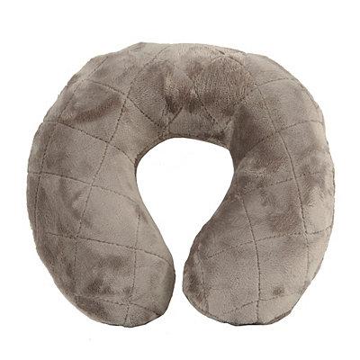 Gray Memory Foam Neck Pillow