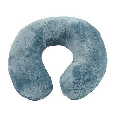 Blue Memory Foam Neck Pillow