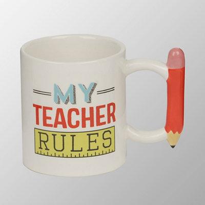 My Teacher Rules Mug