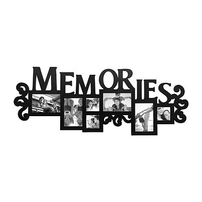 Memories Black Collage Frame