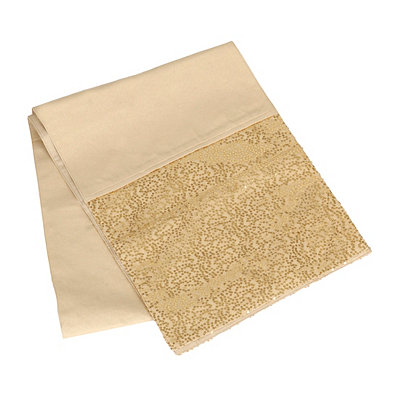 Gold Glitz Sequined Table Runner