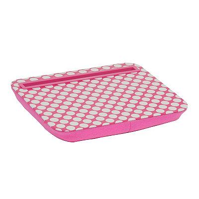Pink Polka Dot Mini Lap Desk