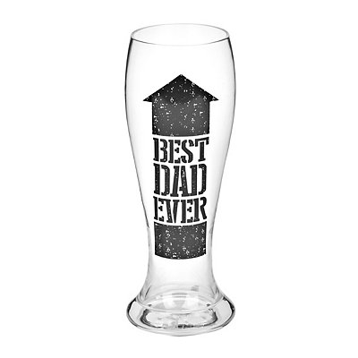 Best Dad Ever Pilsner Glass