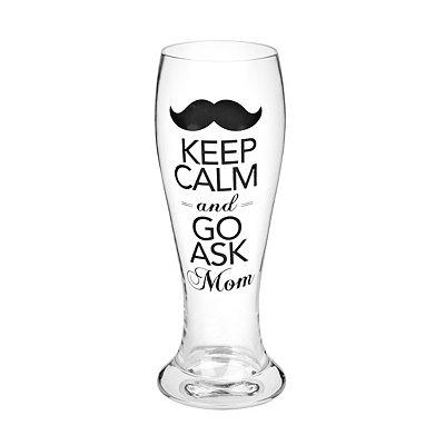 Keep Calm Pilsner Glass