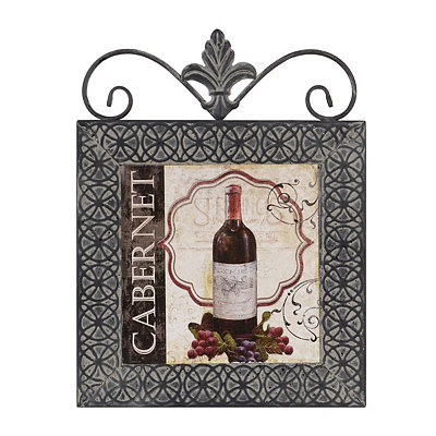 Wine Labels II Framed Plaque