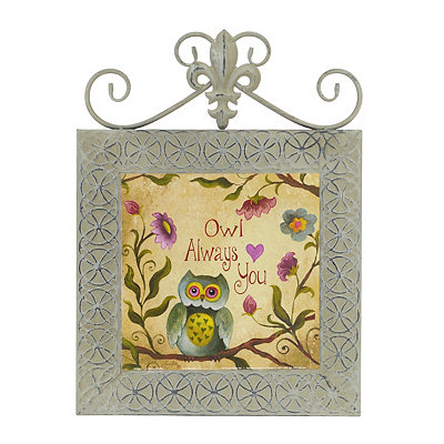 Owl Always Love You Framed Plaque