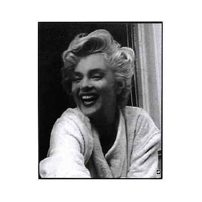 Marilyn Monroe I Black & White Plaque