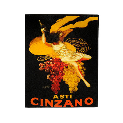 Vintage Cinzano Plaque