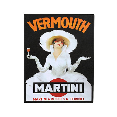Vintage Vermouth Plaque