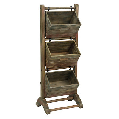 3-Tier Magazine Crate Tower