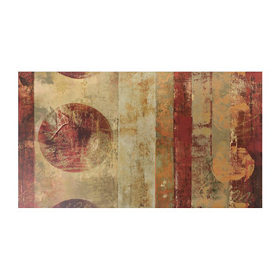 Red Abstract Canvas Art Print