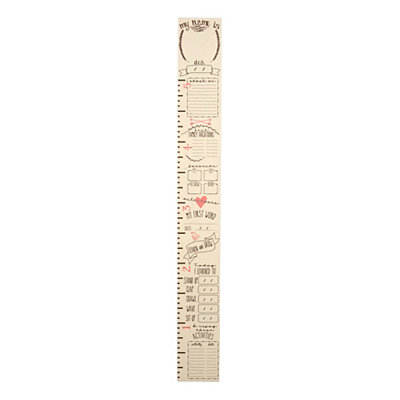 Girls Custom Growth Chart