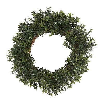 Boxwood Wreath, 18 in.