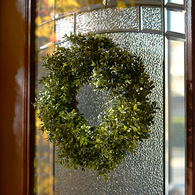 Boxwood Wreath, 15 in.