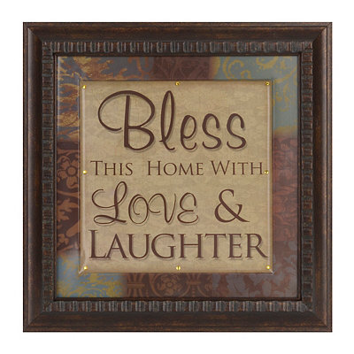 With Love & Laughter Framed Art Print
