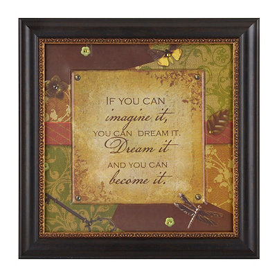 Imagine & Dream Framed Art Print