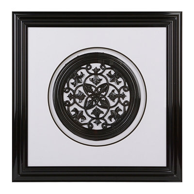Grand Ella Medallion Shadowbox