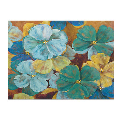Jubilant Floral Canvas Art Print