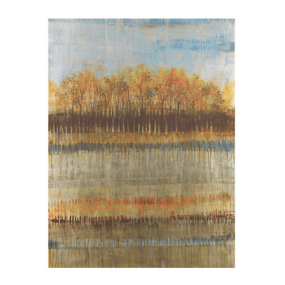 Beach Trees Canvas Art Print