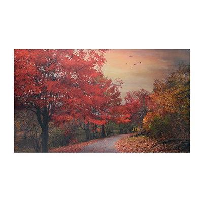 Red Glory Canvas Art Print