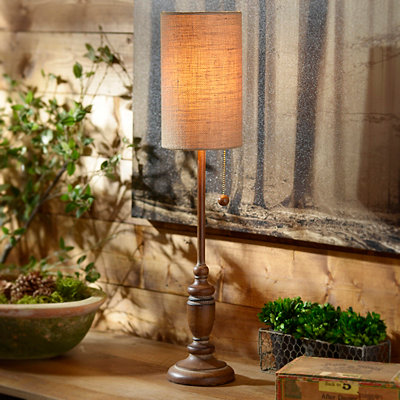 Woodmont Candlestick Buffet Lamp