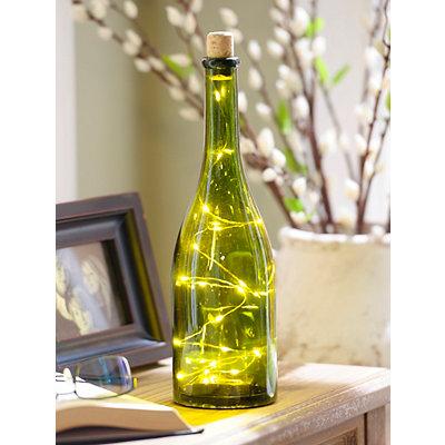 Pre-Lit Wine Bottle Night Light