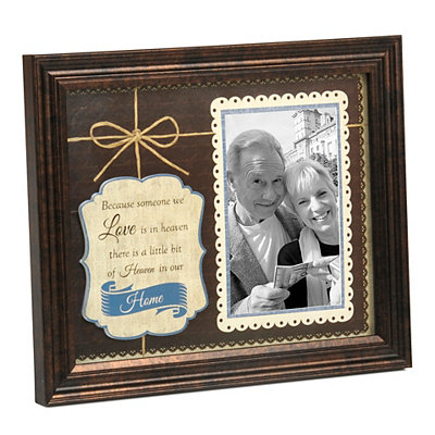 Heaven in Our Home Picture Frame, 4x6