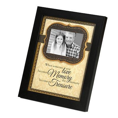 Treasured Memories Picture Frame, 4x6