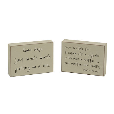 Sassy Wooden Plaques