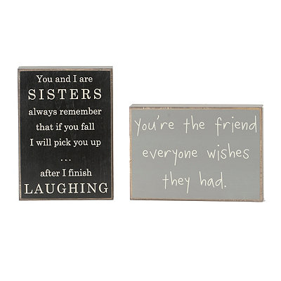 Best Friends Forever Wooden Plaques