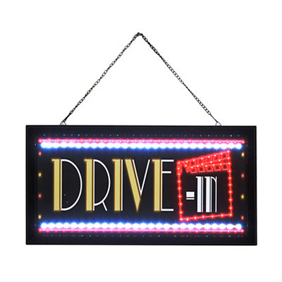 Drive-In LED Framed Sign