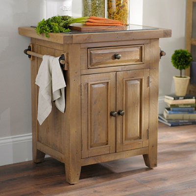 Reclaimed Pine Kitchen Cart