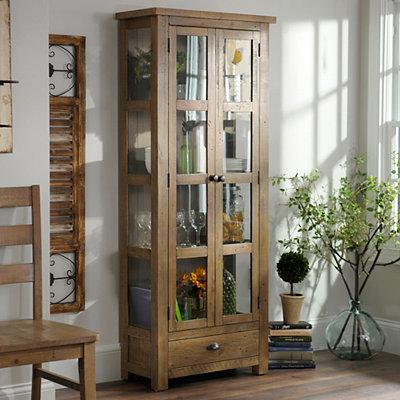 Reclaimed Pine Display Cabinet