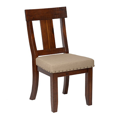 Rough Hewn Slat Back Dining Chair