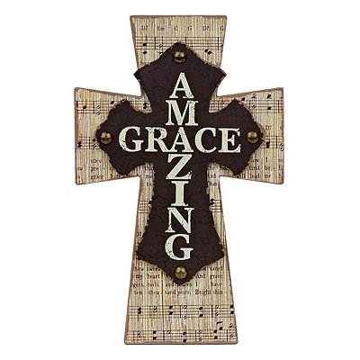 Amazing Grace Music Cross