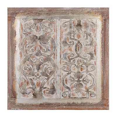 Pine Fleur-de-Lis in Blossom Canvas Art Print