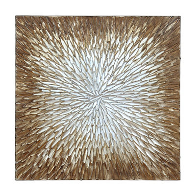 Scattering Knife Canvas Art Print