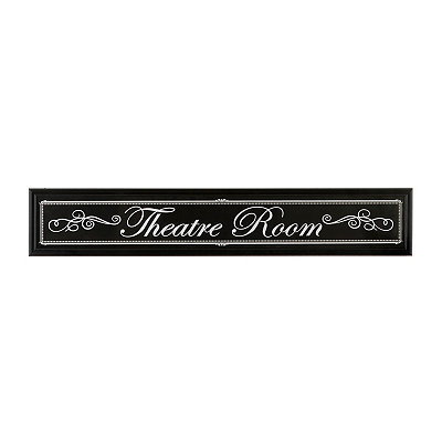 Vintage Theatre Room Framed Art Print
