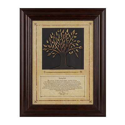 Living Life Tree Shadowbox