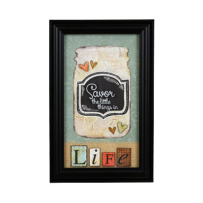 Savor The Little Things Shadowbox