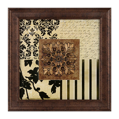Square Black & Cream Luxe Shadowbox