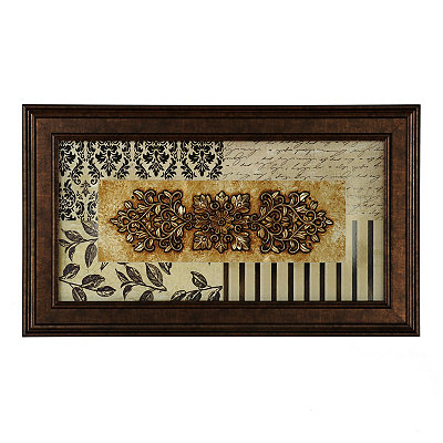Black & Cream Luxe Shadowbox