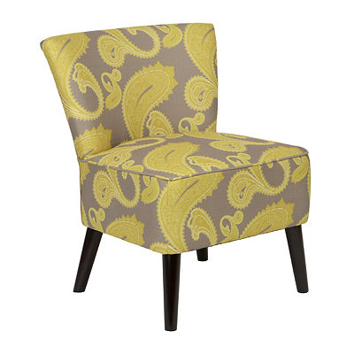 Dijon Yellow Apollo Slipper Chair