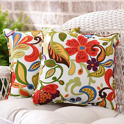 Wildwood Outdoor Accent Pillows, Set of 2