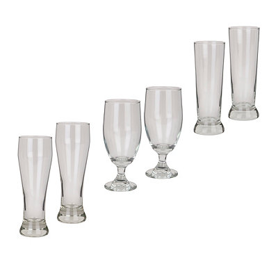 Scotland Pub 6-pc. Beer Glass Set