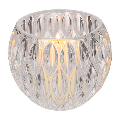 Teardrop Crystal Votive Holder