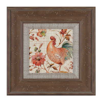 French Rooster II Framed Art Print