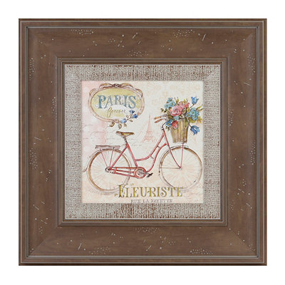Paris Bicycle I Framed Art Print