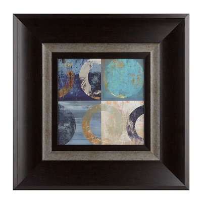 Abstract Circles II Framed Art Print