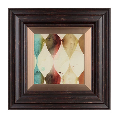 Abstract Ombre I Framed Art Print